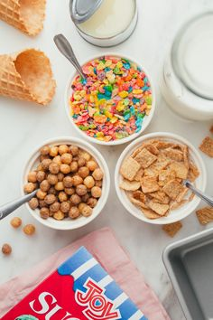 Cereal Milk No-Churn Ice Cream