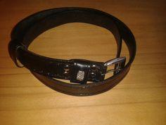 Black belt Black Belt, Leather Craft, Bracelets, Accessories, Jewelry, Fashion, Moda, Leather Crafts, Jewlery