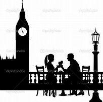 Bildergebnis für romantik siluhetten Building Silhouette, Romantic Couples, Big Ben, Silhouettes, Stencil, Illustration, Movie Posters, Printables, Travel
