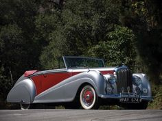 1949 MK VI Bentley Drophead Coupé by Park Ward. The only difference between the R type and The MKVI was basically the boot size. The R type had some newer mods and the option of automatic...