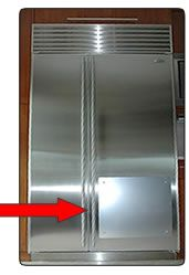Choopa Board For Stainless Steel Refrigerators