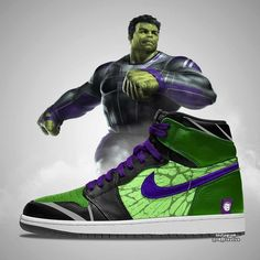 Artist CK_creative shared some cool Avengers: Endgame Air Jordans designs featuring Iron Man, Thanos and Best Sneakers, Custom Sneakers, Custom Shoes, Sneakers Fashion, Sneakers Nike, Zapatillas Nike Basketball, Zapatillas Nike Jordan, Marvel Shoes, Marvel Clothes
