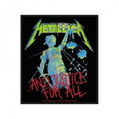 Ecusson Metallica - And Justice for all