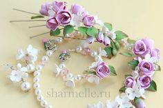 Весенние цветы из полимерной глины
