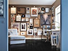 Wall Of Picture Frames Ideas of homes diana Ikea Wall Frame Ideas Home Design for skylight design Frames On Wall, Wall Collage, Wall Art, Empty Frames, Collage Ideas, Frame Collages, Art Frames, Ikea Frames, Frames Decor