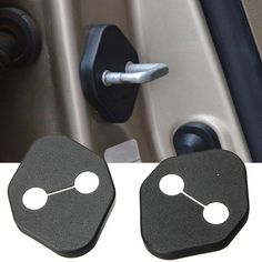 2 x puerta del coche bloquear kit de cubierta protectora para toyota honda civic