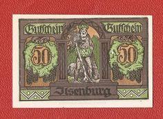 Germany Ilsenburg 50 pfennig pf 1921 banknote notgeld 1923