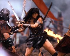 How one woman could be so badass. | 25 Things That '90s Kids Are Still Trying To Figure Out   XENA WARRIOR PRINCESS WAS MY SHIIIIIIIIIIIIT!!!!!!!!!!
