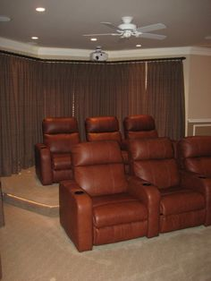 Adam wishes ours could look like this! Media Room Seating, Game Room, Man Cave, Couch, Games, Fun, Furniture, Home Decor, Settee