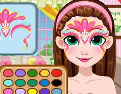 Game Fairy Face Painting Design  #subway_surfers #subway_surfers_game #subway_surfers_download http://subwaysurfers0.com/game-fairy-face-painting-design.html