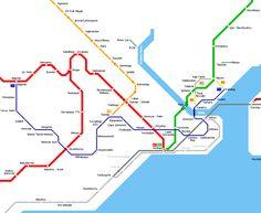 cool Turkey Metro Map