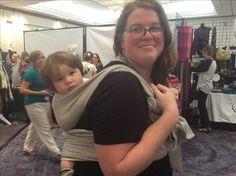 International Babywearing Conference July 2016 in Atlanta. A Lisca model.