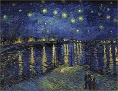 Die Kunstform des Pointillismus, die sich Ende des 19. Jahrhunderts entwickelte, prägte sowohl folgende Epochen als auch Künstler. So erkennt man einen deutlichen Einfluss des Pointillismus auf einem Kunstposter von Vincent van Gogh.