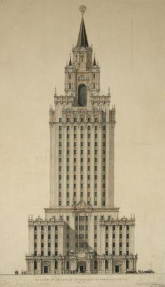 thingsmagazine:Hotel Leningradskaya