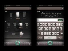 Statbucks app. @Tiffany McComas you should get this!!