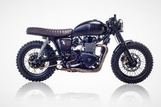 David Beckham's Triumph Bonneville by British Customs