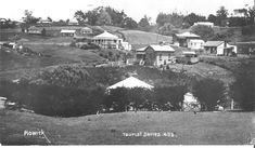 Howick from Marine Parade; circa 0045 - Howick Historical Village on NZMuseums Mystic Places, Museums, Explore, Street, Flowers, Outdoor, Outdoors, Florals, Exploring
