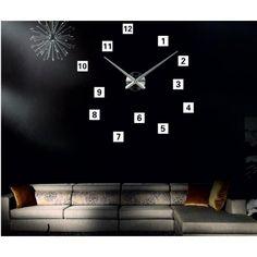 Legszélesebb óra különböző színekben a tökéletes falat. Elegáns ragasztó óra. Fali óra a falon vannak felszerelve minőségi gép akkumulátor AA 1,5 V-os, amelyet az jellemez, alacsony zajszint. A konténerek mozgása és a kezét az óra is tömör acél, amely egyszerűen felszerelhető a falra. A telepítés nagyon egyszerű, és lesz egy hobbi minden háziasszony. A többi komponens formájában számok elegendő ahhoz, hogy ragaszkodni a falon, mert vannak kialakítva a belső felületén a ragasztóanyag…
