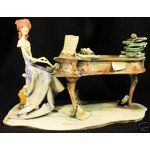 eBay Image 1 Toni Moretto Lo Scricciolo Lady at Piano Figurine