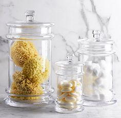 GLASS APOTHECARY CANISTER $175 - Restoration Hardware