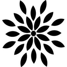 Flowers black and white clip art flowers black free images at silhouette design store flower mightylinksfo