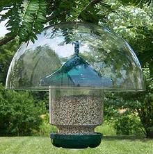 """Picture of Hyde 12"""" hanging squirrel baffle"""