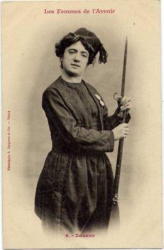 Fantasy Bergeret. Набор французских фотографических открыток. В этом наборе возможные профессии женщин в будущем, напечатаны в 1902 году А. Bergertet в Нанси, Франция. #история #history  /> Источник Читать статью полностью на сайте Не стыдно маме рассказать