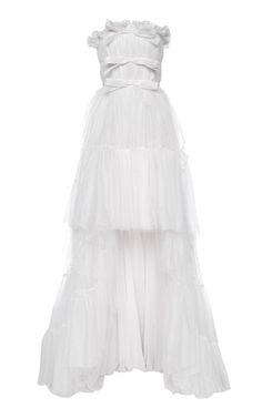 Get inspired and discover Giambattista Valli trunkshow! Shop the latest Giambattista Valli collection at Moda Operandi. Tulle Dress, Satin Dresses, Dress Up, Prom Dresses, Gowns, Wedding Dresses, Pretty Dresses, Beautiful Dresses, Oui Oui