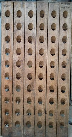 Moet & Chandon Vintage French Riddling Rack in Old East Dallas, Dallas, TX, USA ~ Krrb
