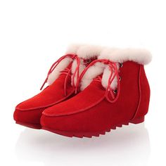 Sweet Comfortable Snow Forget A Boot It From the Plus Size Fashion Community at www.VintageandCurvy.com