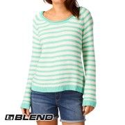 Blend Sweet Jumper - Green