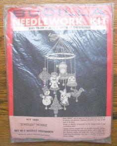 Vintage Bucilla Christmas Needlework Kit by EntirelyApropos, $25.00