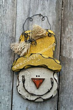 Primitive Fall Scarecrow Harvest Decor Rustic by therustygoose, $17.95
