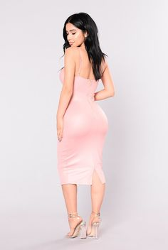 Rita Dress - Blush
