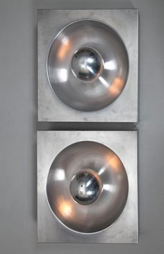 Metal Wall Lights | Verner Panton for Spiegel-Verlagshaus | 1970s