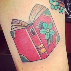 36 Stunning Book Tattoos That Are Surprisingly Badass