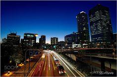 Evening Osaka by photoevecolon