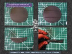 TUTORIAL -1 Simple Swags by The Violet Cake Shop - CakesDecor