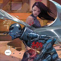 Psylocke vs Archangel: Uncanny X-Force #18.