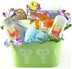 Spa Therapy Bath & Body Spa Basket For Women - Christmas Holiday Gift Idea for Her by Florida Gift Baskets, http://www.amazon.com/dp/B005PTPY7K/ref=cm_sw_r_pi_dp_wzrXqb1WNVNWJ