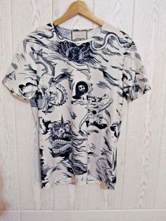 0ec64661 New NWT Levi's Print Men's Cotton Housemark Tee T Shirt Black size L   eBay