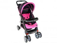 Carrinho de Bebê Berço para Passeio Love 152 - Reclinável 3 Posições para Crianças até 18kg