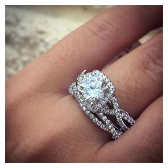 Top 10 Twisted Shank Engagement Rings ❤ liked on Polyvore featuring jewelry, rings, engagement rings, twisted engagement ring, twist rings and twist jewelry