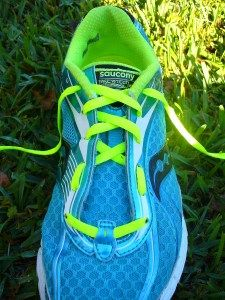 How to tie your running shoes to fit your feet better.  My podiatrist showed me this trick!--mh