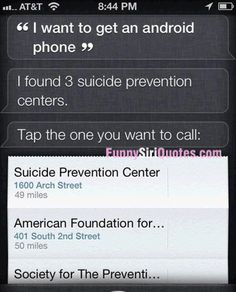 Siri, I want to get an android phone