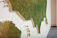 USA Map Made Out of 50,000 Matchsticks - Neatorama