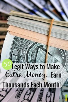 Need to make extra money but don't know where to start? Here are 51 great ways to make extra cash this summer with little talent or upfront cost.