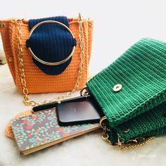 Patrón y Video- Bolso Crochet – Original – Comando Craft