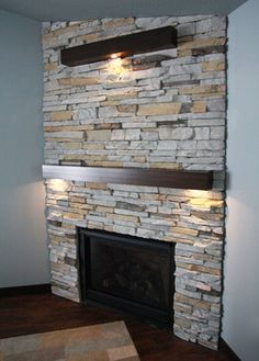 Fireplaces - contemporary - fireplaces - other metro - Thomsen Homes Contemporary Fireplaces, Contemporary Decor, Sitting Area, Decor Styles, Indoor, Wall, Modern, Fireplace Ideas, Mantle