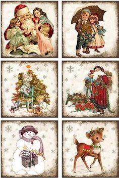 . Christmas Scenes, Christmas Mood, Christmas Paper, Christmas Crafts, Christmas Decorations, Christmas Ornaments, Illustration Noel, Christmas Illustration, Christmas Clipart
